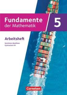 Fundamente der Mathematik 5. Schuljahr - Nordrhein-Westfalen - Gymnasium G9 - Arbeitsheft mit Lösungen, Buch