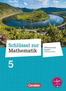 Manuela Becker: Schlüssel zur Mathematik 5. Schuljahr - Differenzierende Ausgabe Rheinland-Pfalz - Schülerbuch, Buch