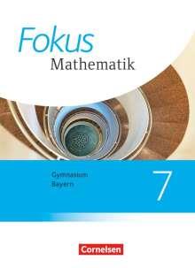 Johannes Almer: Fokus Mathematik  7. Jahrgangsstufe - Bayern - Schülerbuch, Buch