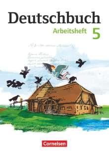 Petra Bowien: Deutschbuch 5. Schuljahr Gymnasium. Arbeitsheft mit Lösungen. Östliche Bundesländer und Berlin, Buch