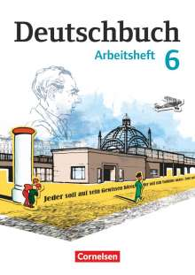 Petra Bowien: Deutschbuch 6. Schuljahr. Arbeitsheft mit Lösungen. Gymnasium Östliche Bundesländer und Berlin, Buch