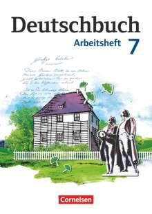 Petra Bowien: Deutschbuch 7. Schuljahr. Arbeitsheft mit Lösungen. Gymnasium Östliche Bundesländer und Berlin, Buch