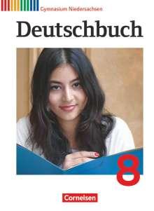 Gerd Brenner: Deutschbuch Gymnasium 8. Schuljahr. Schülerbuch Niedersachsen, Buch