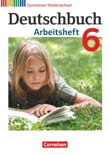 Cordula Grunow: Deutschbuch 6. Schuljahr. Arbeitsheft mit Lösungen Gymnasium Niedersachsen, Buch