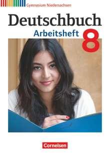 Cordula Grunow: Deutschbuch Gymnasium 8. Schuljahr. Arbeitsheft mit Lösungen. Niedersachsen, Buch