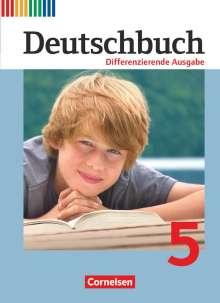 Mechthild Stüber: Deutschbuch 5. Schuljahr. Schülerbuch Differenzierende Ausgabe, Buch