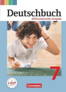 Friedrich Dick: Deutschbuch 7. Schuljahr. Schülerbuch. Differenzierende Ausgabe, Buch