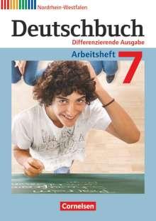 Friedrich Dick: Deutschbuch 7. Schuljahr. Arbeitsheft mit Lösungen. Differenzierende Ausgabe Nordrhein-Westfalen, Buch