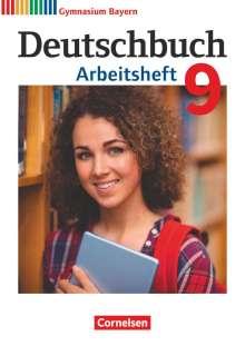 Katrin Flexeder-Asen: Deutschbuch Gymnasium 9. Jahrgangsstufe. Arbeitsheft mit Lösungen. Bayern, Buch