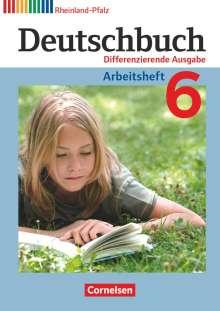 Friedrich Dick: Deutschbuch 6. Schuljahr. Arbeitsheft Rheinland-Pfalz, Buch