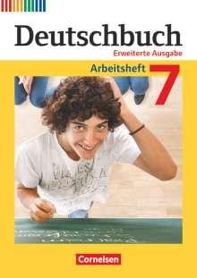 Friedrich Dick: Deutschbuch 7. Schuljahr. Erweiterte Ausgabe - Arbeitsheft mit Lösungen, Buch