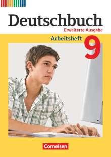 Friedrich Dick: Deutschbuch  9. Schuljahr - Zu allen erweiterten Ausgaben - Arbeitsheft mit Lösungen, Buch