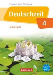 Renate Gross: Deutschzeit Band 4: 8. Schuljahr - Baden-Württemberg - Arbeitsheft mit Lösungen, Buch