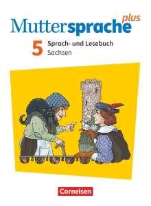 Heike Dreyer: Muttersprache plus 5. Schuljahr - Sachsen - Neue Ausgabe - Schülerbuch, Buch