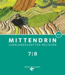 Iris Bosold: Mittendrin Band 2: 7./8. Schuljahr- Baden-Württemberg - Schülerbuch, Buch