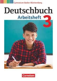Margret Fingerhut: Deutschbuch Gymnasium Band 3: 7. Schuljahr - Baden-Württemberg - Arbeitsheft mit Lösungen, Buch
