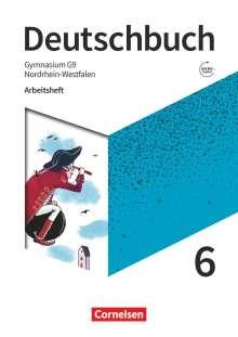 Michael Germann: Deutschbuch Gymnasium 6. Schuljahr - Nordrhein-Westfalen - Neue Ausgabe - Arbeitsheft mit Lösungen, Buch