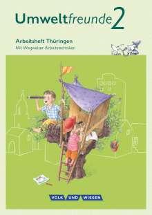Ulrich Gard: Umweltfreunde 2. Schuljahr. Arbeitsheft Thüringen, Buch