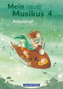 Anne Boss: Mein neuer Musikus 4. Schuljahr. Arbeitsheft, Buch
