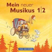 Mein neuer Musikus 1./2. Schuljahr. CD 1-4, 4 CDs