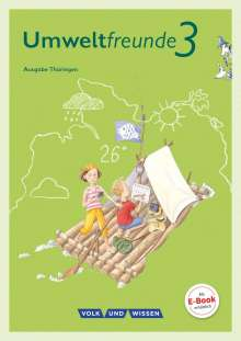 Jana Arnold: Umweltfreunde 3. Schuljahr - Thüringen - Schülerbuch, Buch