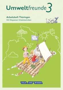 Jana Arnold: Umweltfreunde 3. Schuljahr - Thüringen - Arbeitsheft, Buch