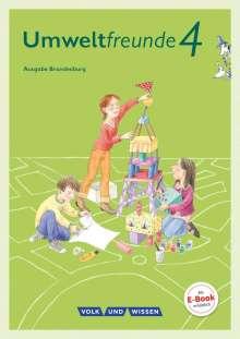 Ulrike Blumensath: Umweltfreunde 4. Schuljahr - Brandenburg - Schülerbuch, Buch