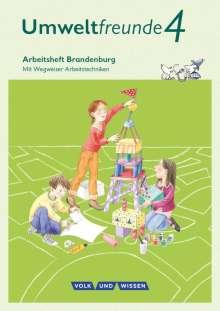 Ulrike Blumensath: Umweltfreunde - Brandenburg 4. Schuljahr - Arbeitsheft, Buch