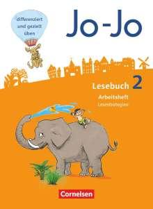 Katja Eder: Jo-Jo Lesebuch - Allgemeine Ausgabe - Neubearbeitung 2016. 2. Schuljahr - Arbeitsheft Lesestrategien, Buch