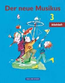 Georg Biegholdt: Der neue Musikus 3. Schuljahr - Arbeitsheft. Östliche Bundesländer und Berlin, Buch