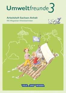 Inge Koch: Umweltfreunde 3. Schuljahr - Sachsen-Anhalt - Arbeitsheft, Buch