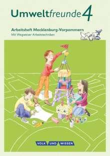 Anke Gretzschel: Umweltfreunde 4. Schuljahr - Mecklenburg-Vorpommern - Arbeitsheft, Buch