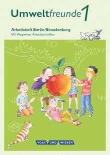 Ingrid Haak: Umweltfreunde 1. Schuljahr - Berlin/Brandenburg - Arbeitsheft, Buch