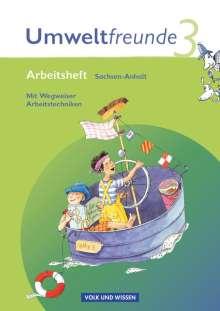 Umweltfreunde 3. Schuljahr. Neubearbeitung 2009. Arbeitsheft.  Sachsen-Anhalt, Buch