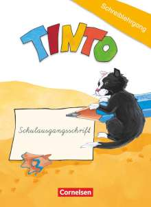 Gabriele Müller: TINTO 1 und 2. Blaue und grüne Ausgabe1./2. Schuljahr. Schreiblehrgang in Schulausgangsschrift, Buch