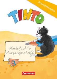 Gabriele Müller: TINTO 1 und 2. Blaue und grüne Ausgabe1./2. Schuljahr. Schreiblehrgang in Vereinfachter Ausgangsschrift, Buch