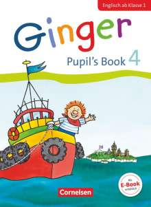 Kerstin Caspari-Grote: Ginger - Early Start Edition 4. Schuljahr - Pupil's Book, Buch