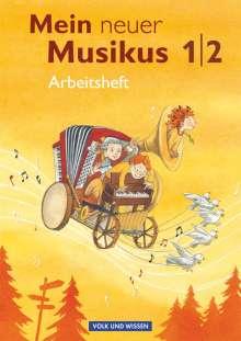 Anja-Maria Gläser: Mein neuer Musikus 1./2. Schuljahr. Arbeitsheft, Buch