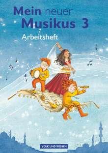 Anja-Maria Gläser: Mein neuer Musikus - Aktuelle Ausgabe - 3. Schuljahr, Buch