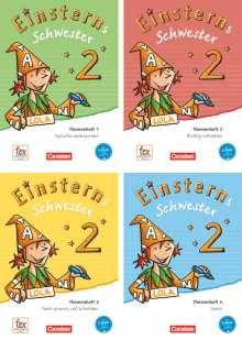 Roland Bauer: Einsterns Schwester - Sprache und Lesen 2. Schuljahr. Themenhefte 1-4 und Projektheft mit Schuber. Leihmaterial, Diverse