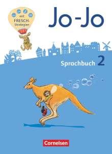 Frido Brunold: Jo-Jo Sprachbuch - Allgemeine Ausgabe - Neubearbeitung 2016. 2. Schuljahr - Sprachbuch, Buch
