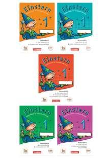 Roland Bauer: Einstern 01. Themenhefte 1-5 und Kartonbeilagen im Schuber, Buch