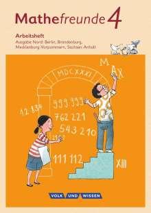 Kathrin Fiedler: Mathefreunde 4. Schuljahr - Nord - Arbeitsheft, Buch