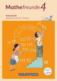 Jana Elsner: Mathefreunde 4. Schuljahr - Süd - Arbeitsheft, Buch