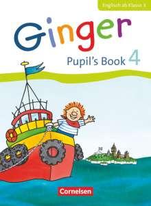 Kerstin Caspari-Grote: Ginger 4. Schuljahr. Pupil's Book, Buch