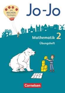 Joachim Becherer: Jo-Jo Mathematik 2. Schuljahr -  Allgemeine Ausgabe - Übungsheft, Buch