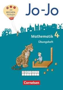 Joachim Becherer: Jo-Jo Mathematik 4. Schuljahr - Übungsheft, Buch