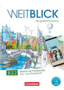Claudia Böschel: Weitblick B2: Band 2 - Kurs- und Übungsbuch, 2 Bücher