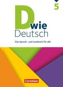 Margret Angel: D wie Deutsch - Allgemeine Ausgabe 5. Schuljahr - Schülerbuch, Buch