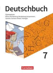 Petra Bowien: Deutschbuch Gymnasium 7. Schuljahr - Berlin, Brandenburg, Mecklenburg-Vorpommern, Sachsen, Sachsen-Anhalt und Thüringen - Schülerbuch, Buch